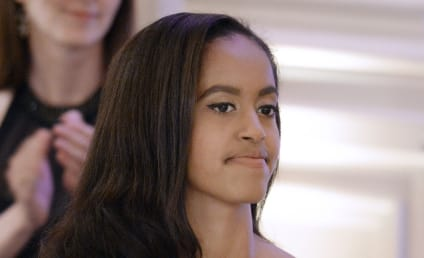 Malia Obama: Mocking Pot Controversy in Latest Photos?!