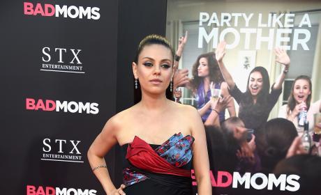 Mila Kunis at Bad Moms Premiere