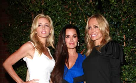 Kyle Richards, Camille Grammer and Taylor Armstrong