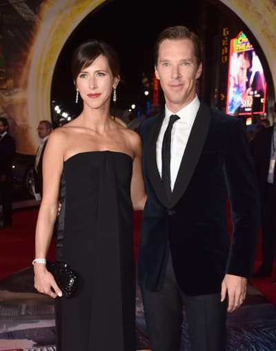 Benedict Cumberbatch & Sophie Hunter: Dr. Strange Red Carpet