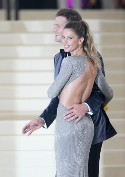 Gisele Bundchen with Tom