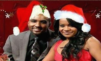 Nick Gordon Photoshops Bobbi Kristina Brown on Christmas Card