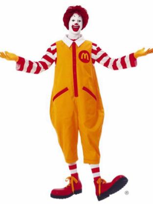 Ronald McDonald Old Look