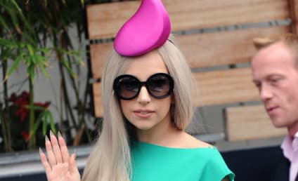 Lady Gaga Rocks a Pink Sperm Hat, and Other Fashion Highlights From Her UK Trip