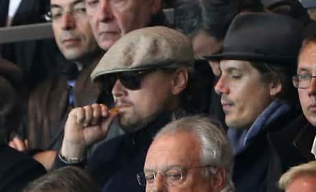 Leonardo DiCaprio Smoking