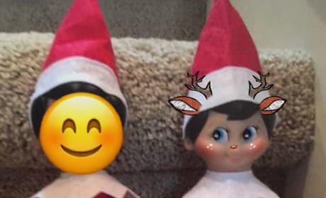 Farrah Abraham Elf on the Shelf Photo
