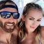 Dustin Johnson and Paulina Gretzky Pic