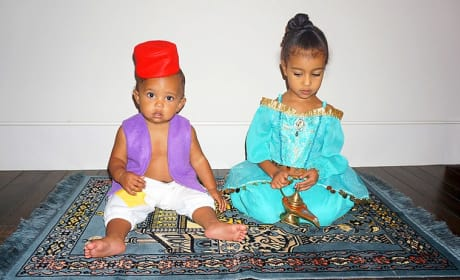 Saint and North West
