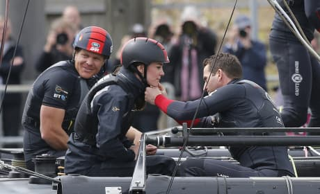 """Kate Middleton """"Flirts"""" With Ben Ainslie, Cheating On Prince William?"""
