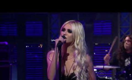 Pretty Reckless on Letterman