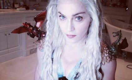 Madonna Dresses as Daenerys Targaryen for Purim