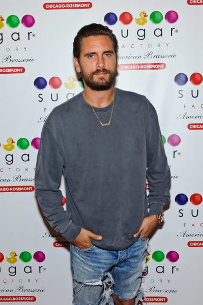Scott Disick Stands