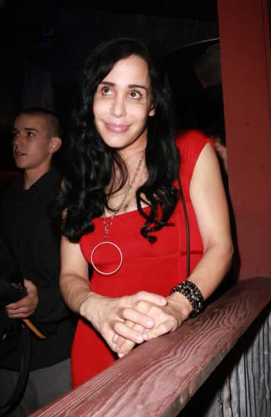 Octomom in Red
