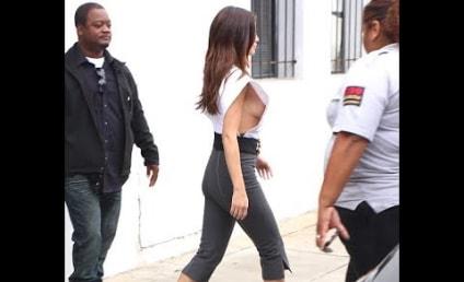 Selena Gomez Wardrobe Malfunction: Is That Even a Shirt?!