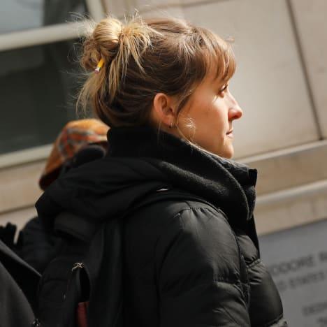 Allison Mack Leaves Court