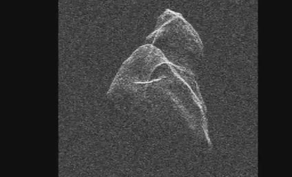 Asteroid Caught on Video (Sort Of)