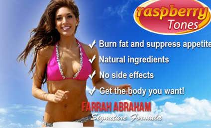 Farrah Abraham Signs Weight Loss Pill Endorsement Deal