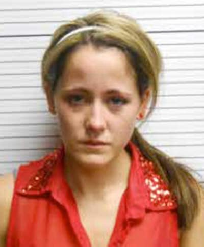 Jenelle Evans Mug Shot (April 2013)