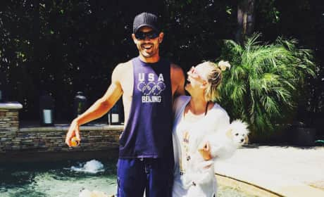 Kaley Cuoco, Ryan Sweeting Instagram Pic