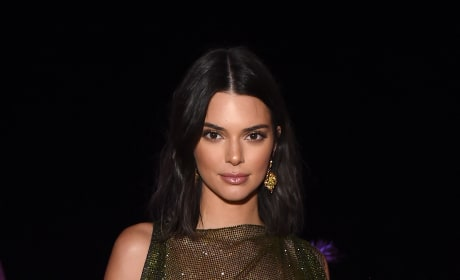 Kendall Jenner Shows Nipples