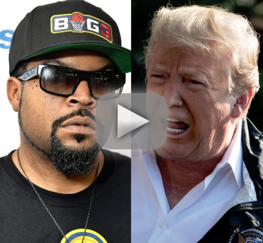 Ice cube taunts donald trump with new track arrest the president