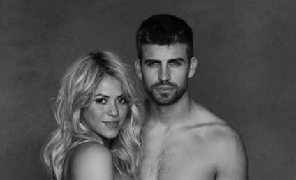 Shakira Bares Baby Bump, Pushes Good Cause