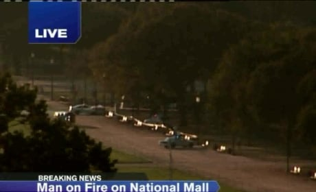 D.C. Man on Fire: Report