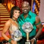 Emmitt Smith and Cheryl Burke Win