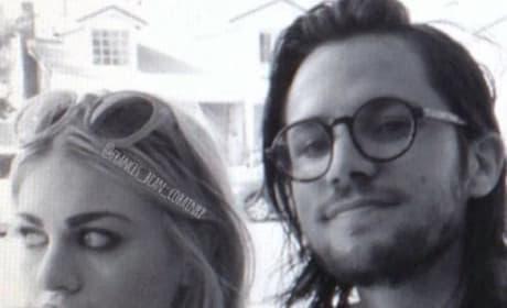 Frances Bean Cobain and Isaiah Silva Photo