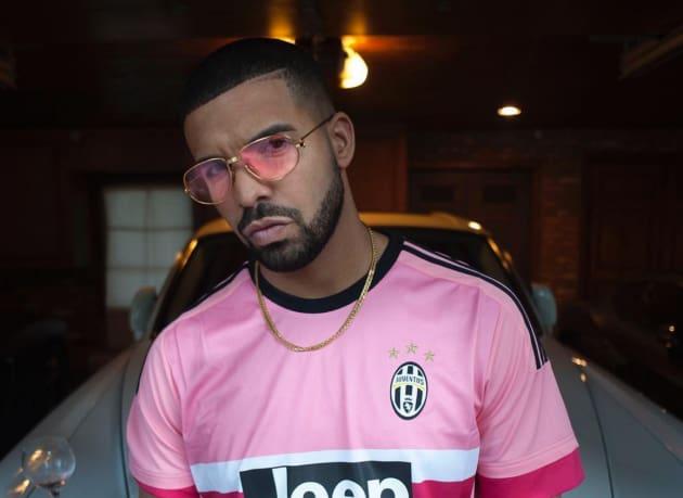 Drake in a Pink Shirt