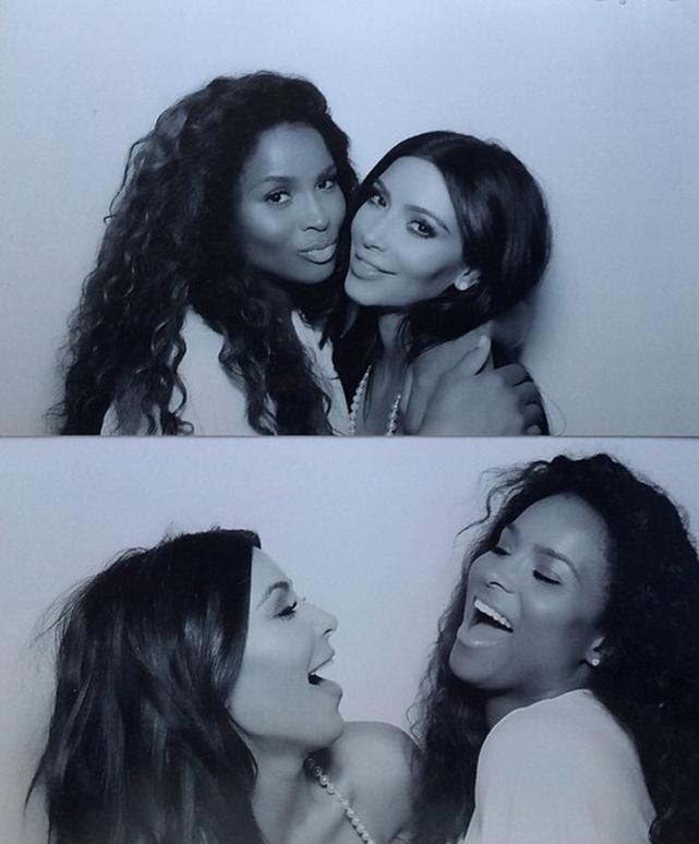 Kim Kardashian Photo Booth Fun