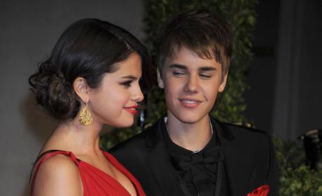 Justin and Selena
