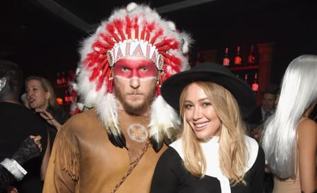 Hilary Duff Jason Walsh Halloween photo