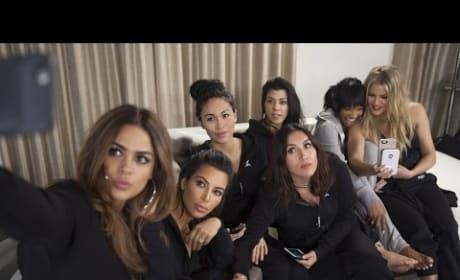 "The Kardashian Plays ""Marry, F-ck Kill"" with Friends Cast"