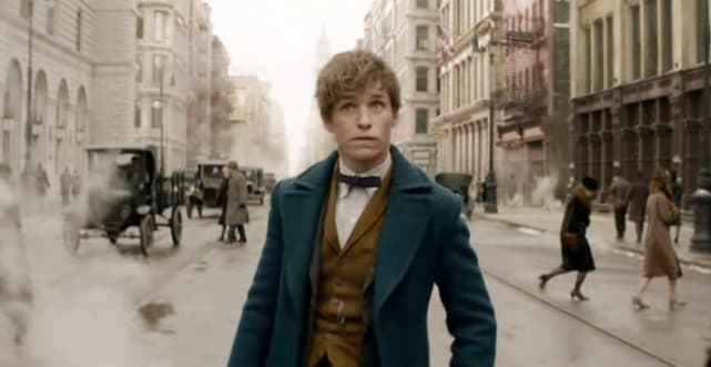 The fantastic beasts and where to find them trailer debuted