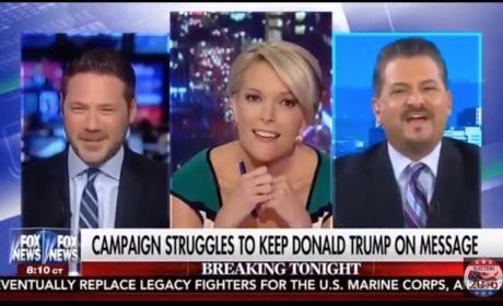 Megyn Kelly Cracks Up Over Donald Trump