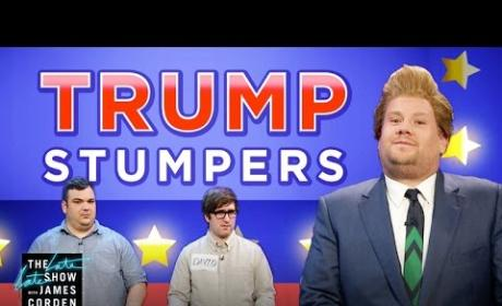 James Corden Presents... The Donald Trump Game Show!