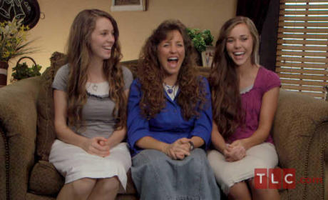 Michelle, Jessa and Jill Duggar