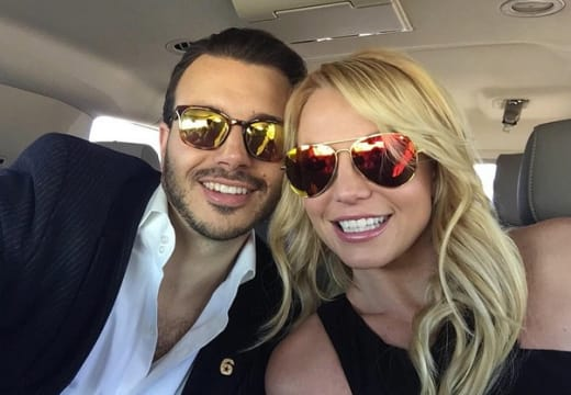 Britney Spears, Charlie Ebersol Picture