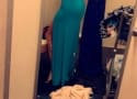 Sarah Stage Takes Dressing Room Selfie With Baby Lying on Floor: Not Cool or Who Cares?
