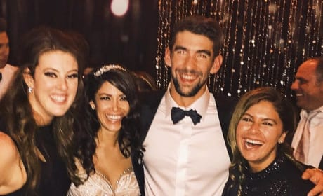 Michael Phelps Wedding Party Image