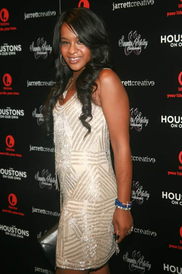 Bobbi Kristina on the Red Carpet