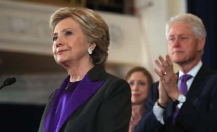 Hillary Clinton Concedes Election, Nearly Breaks Down