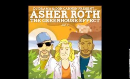 "Chris Brown and Justin Bieber: ""Actin' Up"" on New Asher Roth Song!"