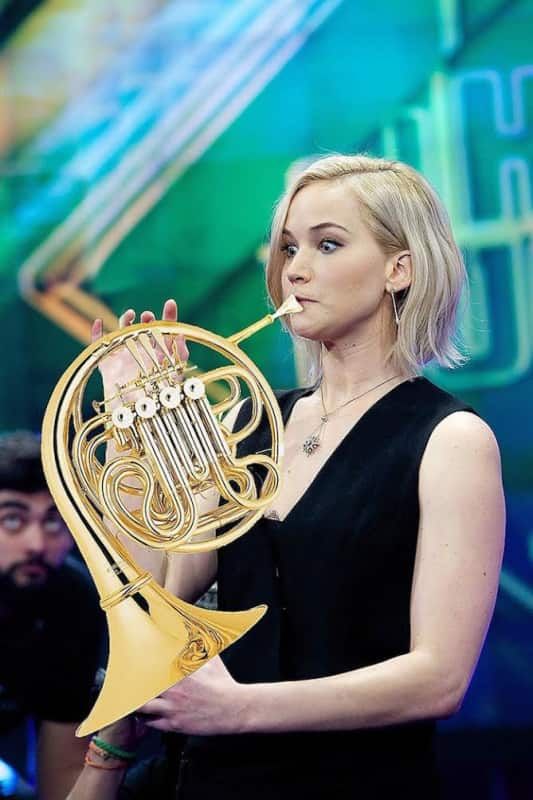 Jen on the French Horn