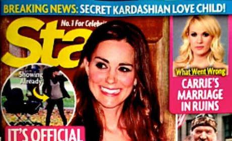 Kate Middleton Tabloid Report