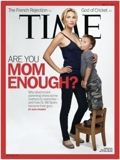 Attachment Parenting Time Cover