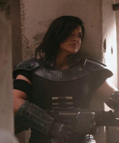 Gina Carano como Cara Dune en The Mandalorian 02 de 02