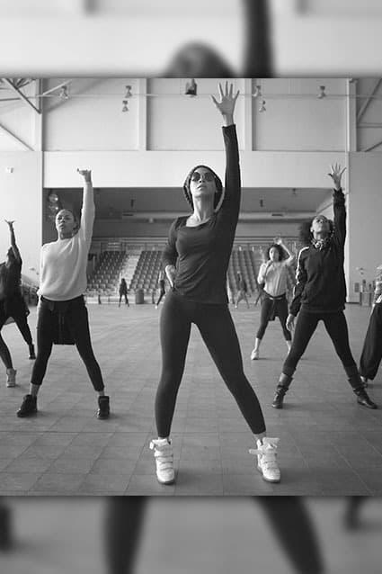 Beyonce Rehearsal Photo
