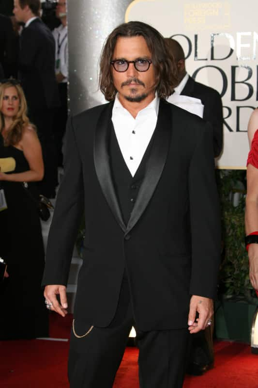Johnny Depp Collects Dolls!